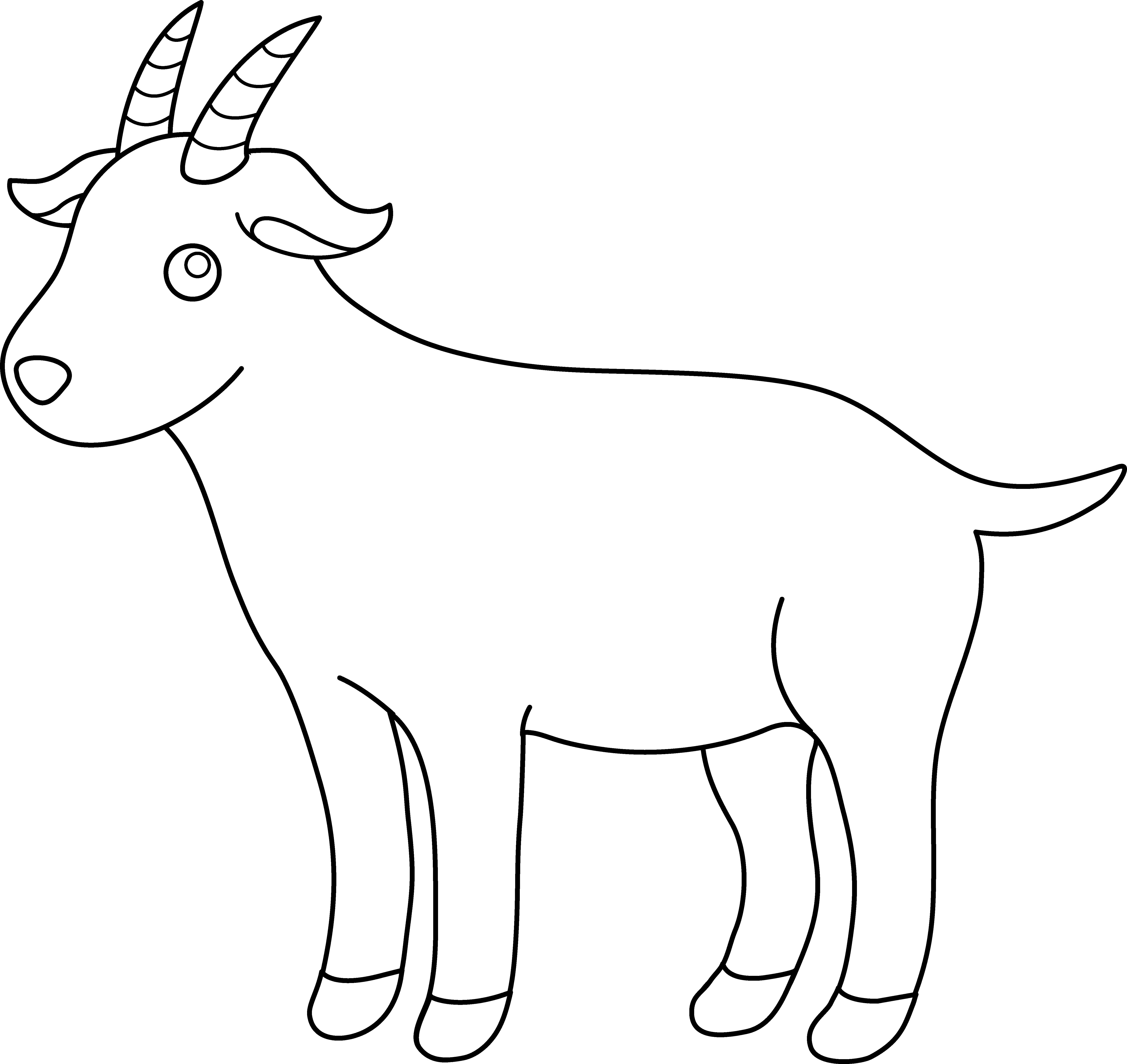 Billy Goat clipart baby goat Images Black Clipart Goat sat%20clipart%20black%20and%20white