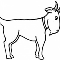 Billy Goat clipart cartoon And Free Black  Goat