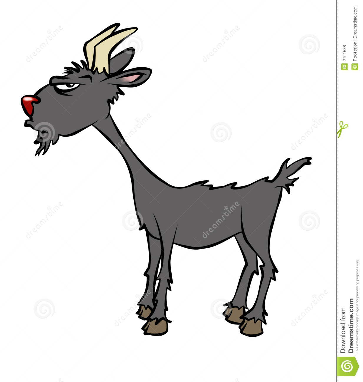 Billy Goat clipart cartoon Clipart Goat Goat drawings #5