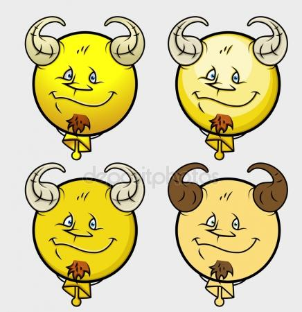 Billy Goat clipart three Smiley Illustrations Billy — Goat
