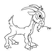 Billy Goat clipart baby goat A Goat best Cartoon Free