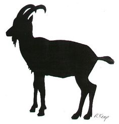 Billy Goat clipart stencil Serving are after Digital Graphic