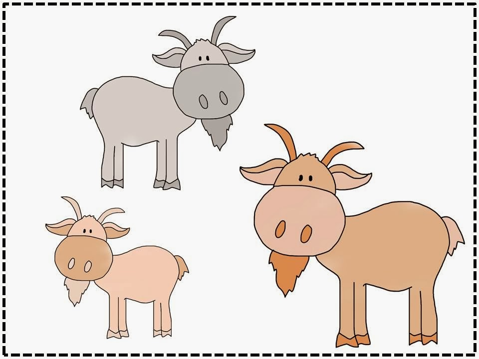Billy Goat clipart three Billy the craft goats activity