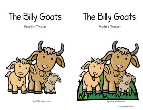 Billy Goat clipart three Theater Kindergarten Billy Partner Goats: