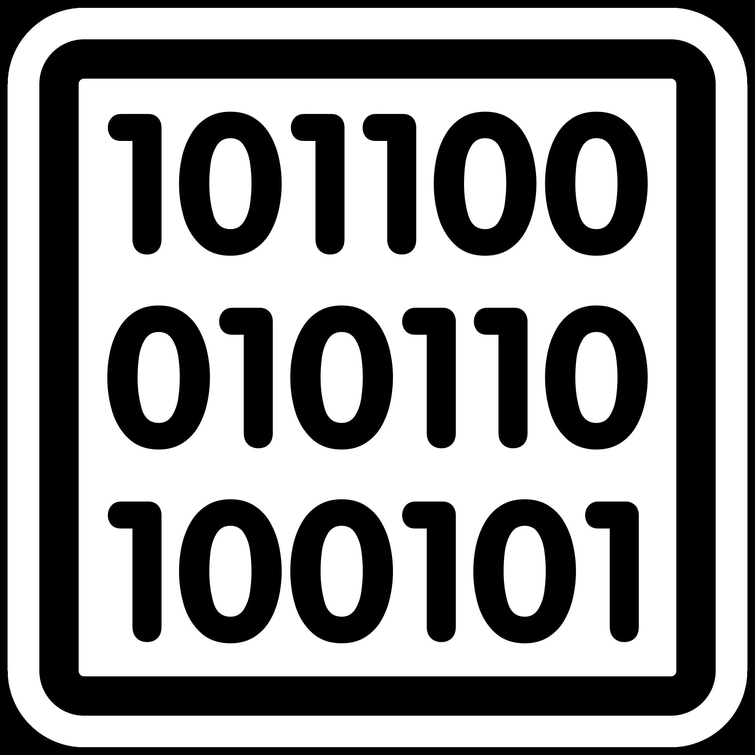 Binary clipart Primary binary Clipart binary primary