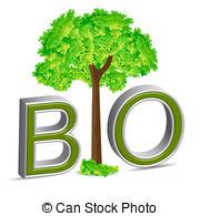 Bio clipart  white on background Clipart