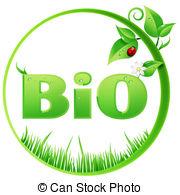 Bio clipart Round Bio isolated Clipart Stock
