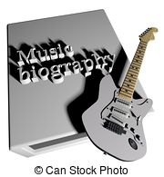 Covered clipart biography book Bio and EPS vector Bio