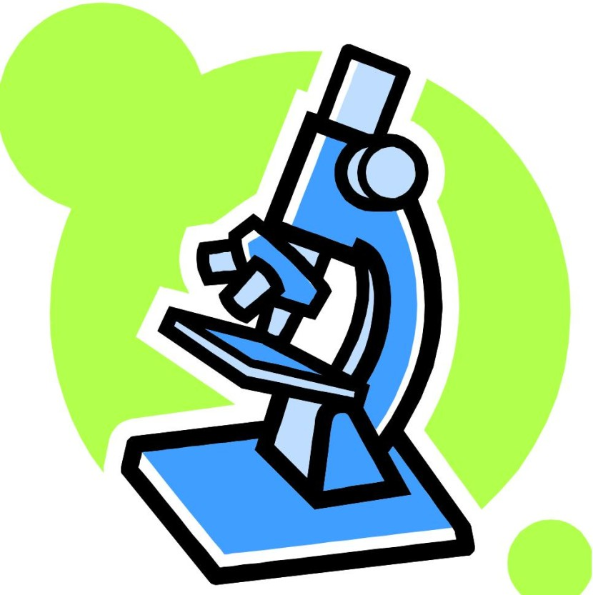 Black clipart microscope Clipartion Science Clipart com Science