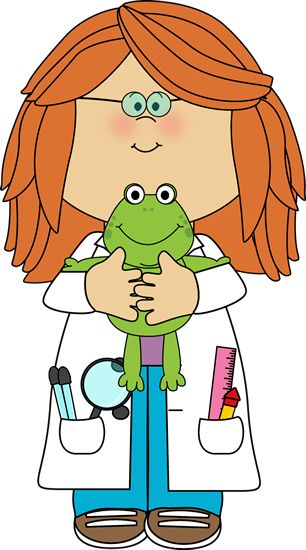 Bio clipart female scientist Mycutegraphics Clip clipart on on