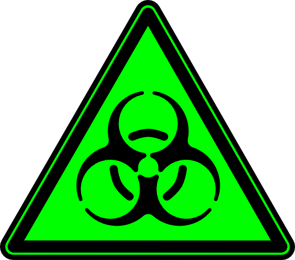 Biohazard clipart green Biohazard as: clip Clip at