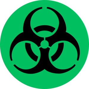 Toxic clipart simple Green Green clip vector online