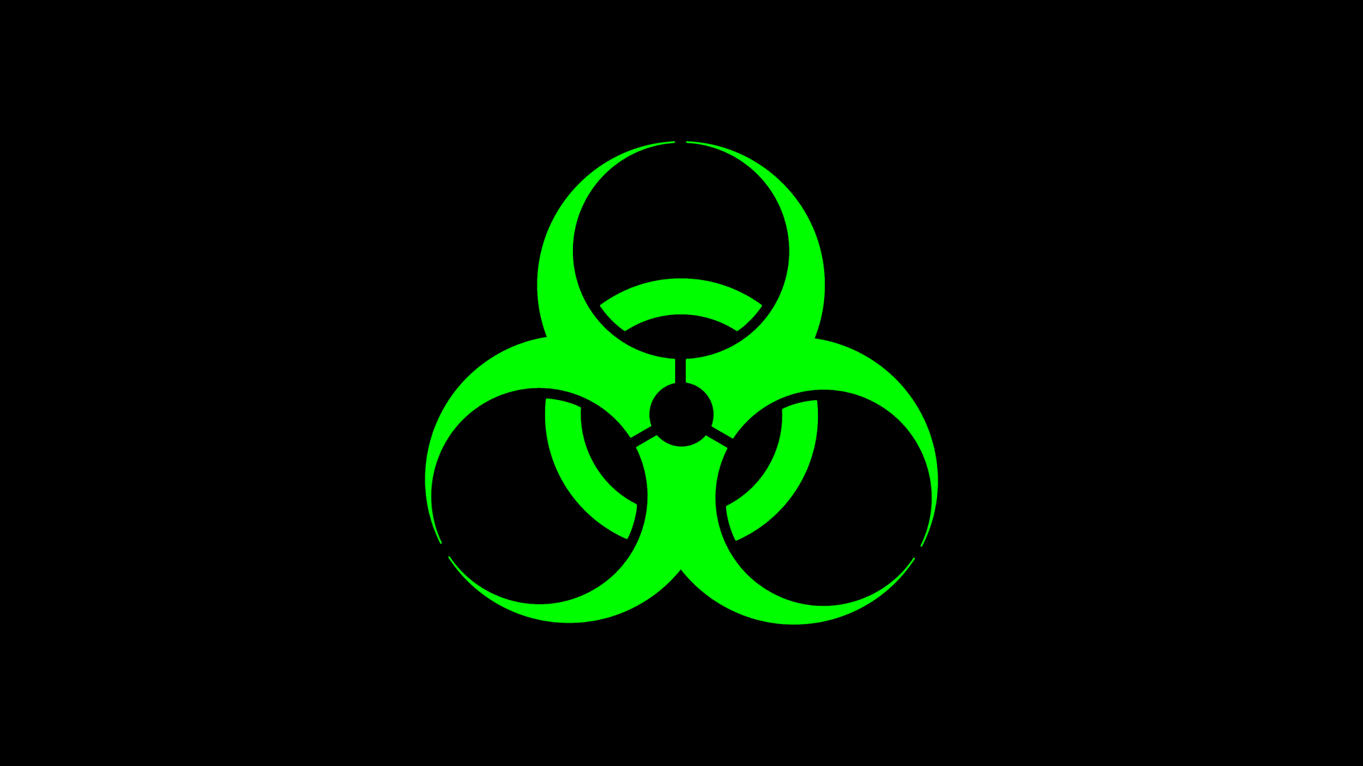 Biohazard clipart green Free Cave on Download Art