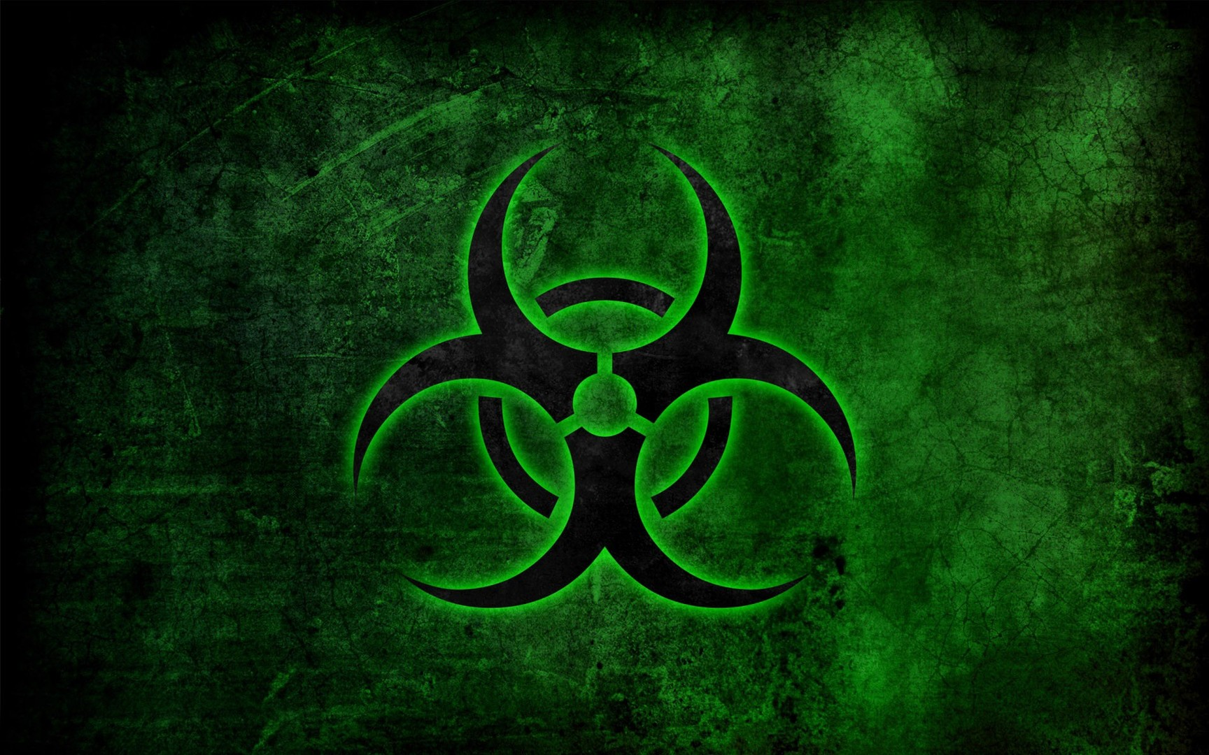Biohazard clipart green HD Free Art Wallpaper Symbol