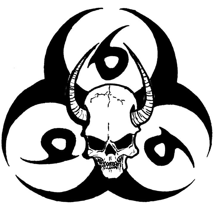Biohazard clipart toxic waste Drawing Art  on Art