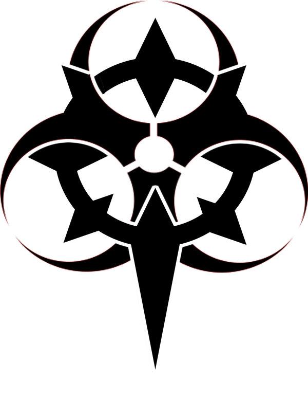 Biohazard clipart tribal Free Symbols Clip Symbols Download