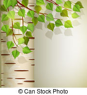 Birch clipart Illustration 10  Clipart Vector