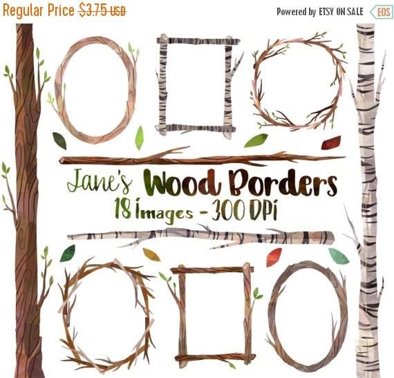 Birch clipart border And Borders Birch from Clipart