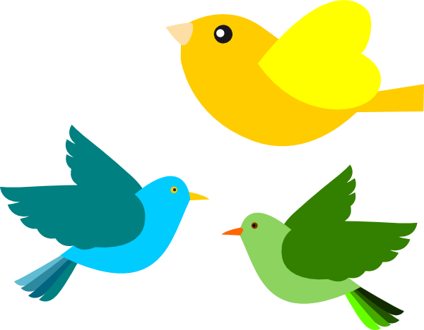 Brds clipart Vector art Clip online Birds