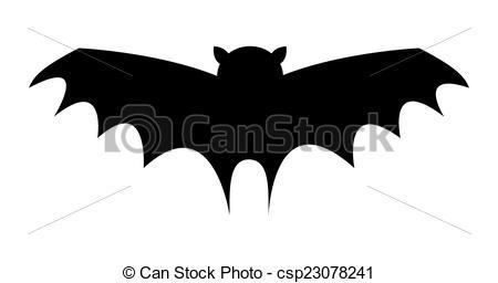 Bird clipart bat Shape Bird Shape Spooky Cartoon