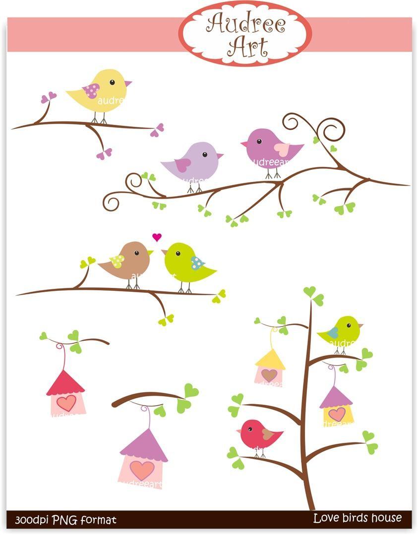 Brds clipart branch Love audreeart 2  the