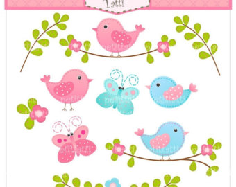 Bird clipart butterfly Art ON Butterfly and SALE