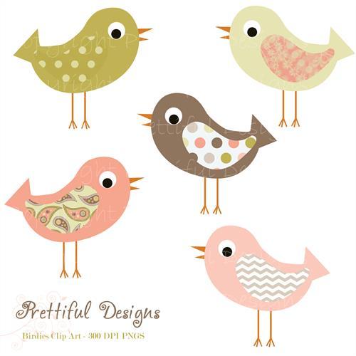 Bird clipart chevron Prettiful Designs  Preview