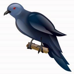 Brds clipart koyal Icon pixels 256 x koel_bird