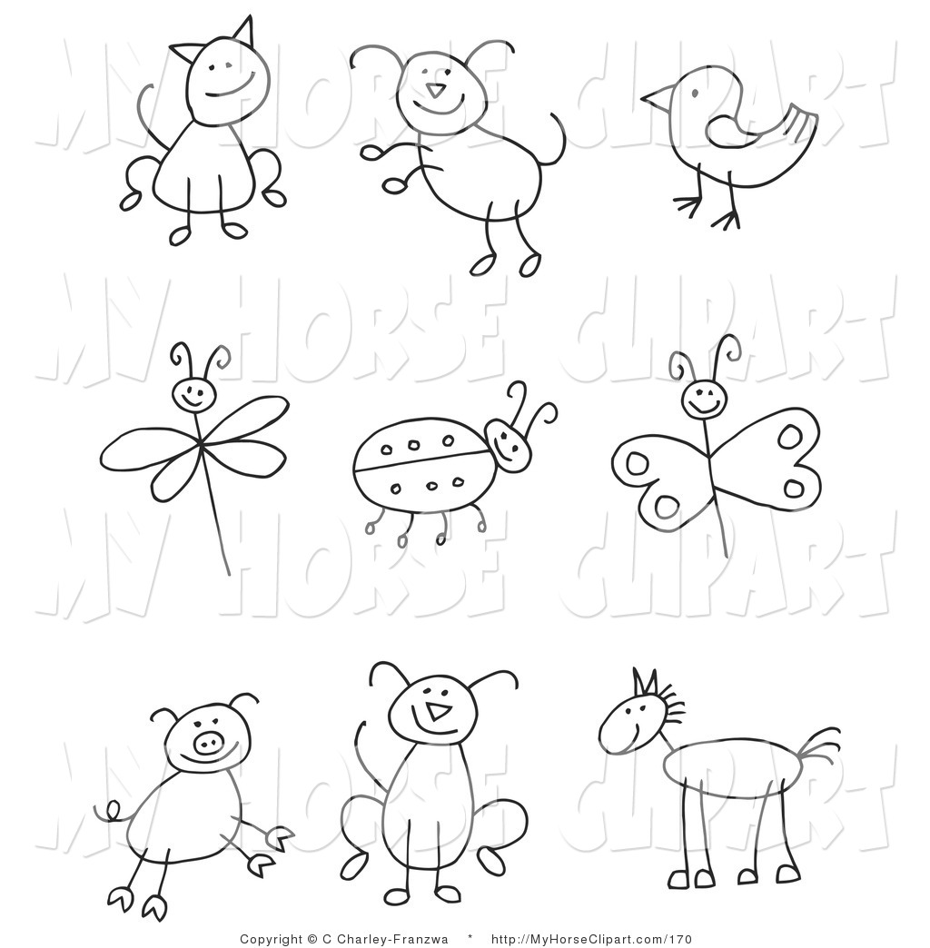 Bird clipart school Bird of Nine Ladybug Stick