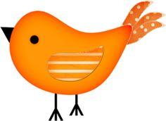 Brds clipart orange Animated Bird Free Bird bird