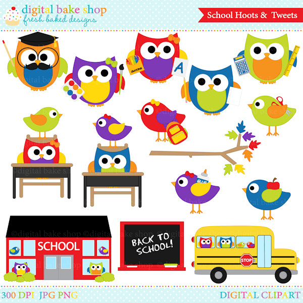 Bird clipart school Clip school Art from School