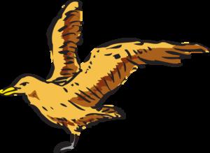 Bird clipart side view View Clker Side art com