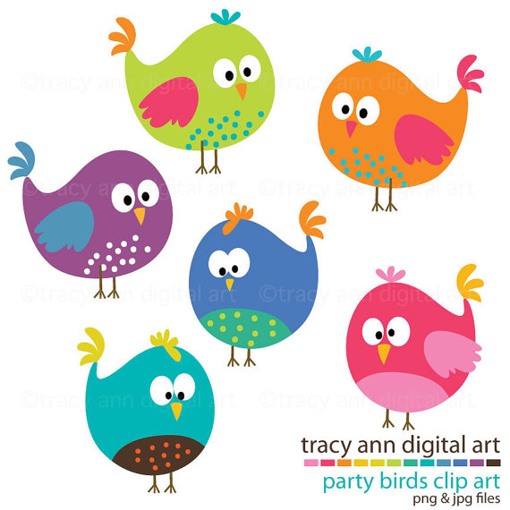 Brds clipart nine On Party similar Etsy NEW