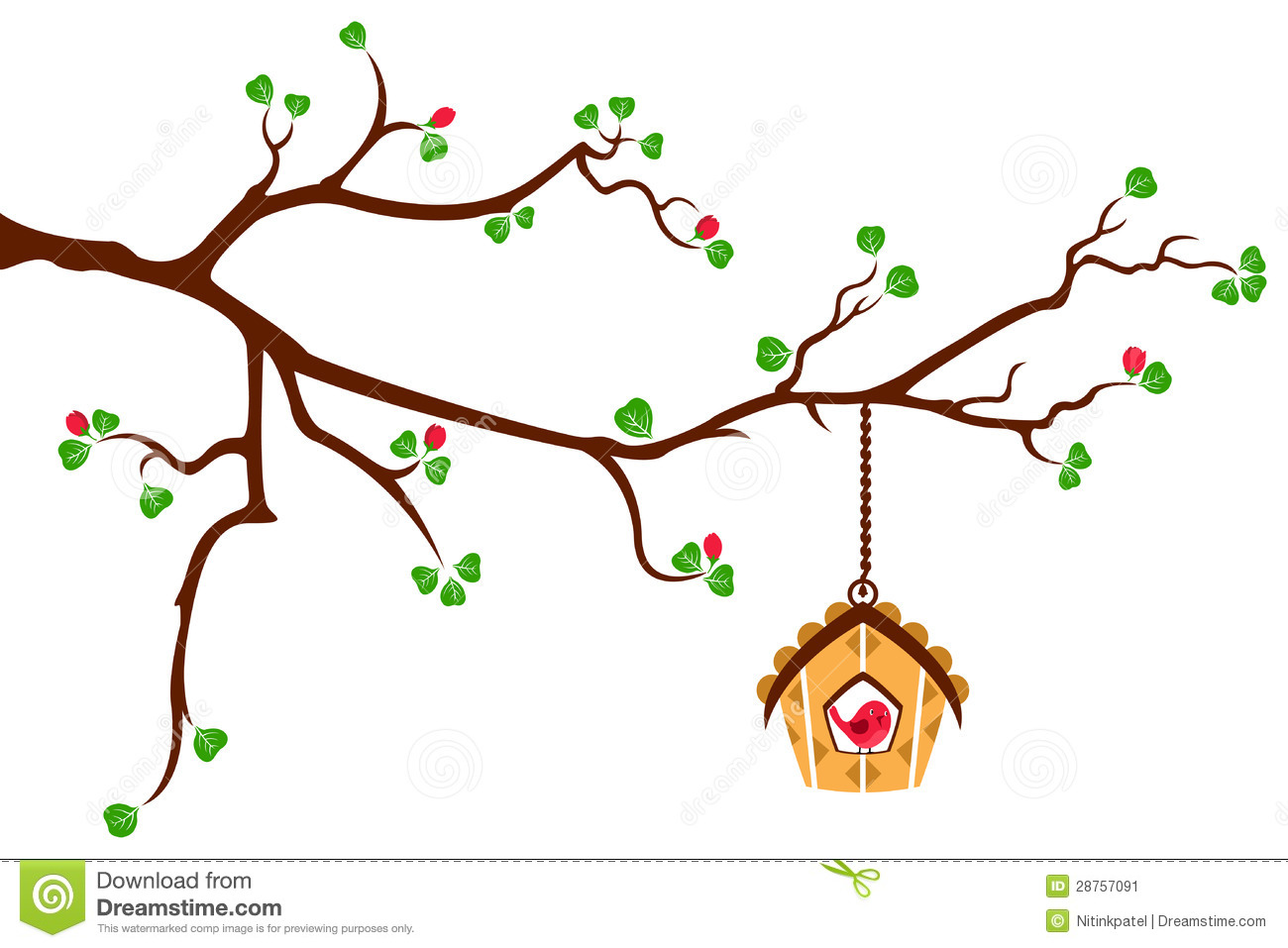 Brds clipart tree house Clipart Pivot on tree branch