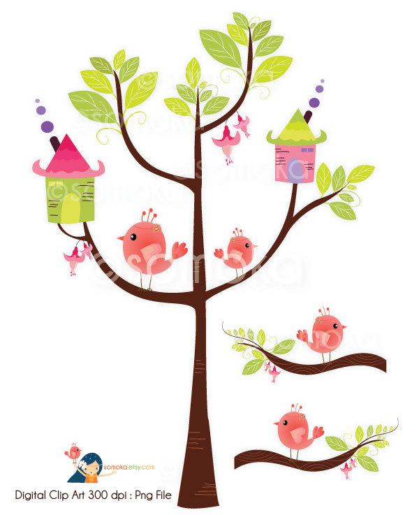 Brds clipart tree house In clipart Clip Art bird