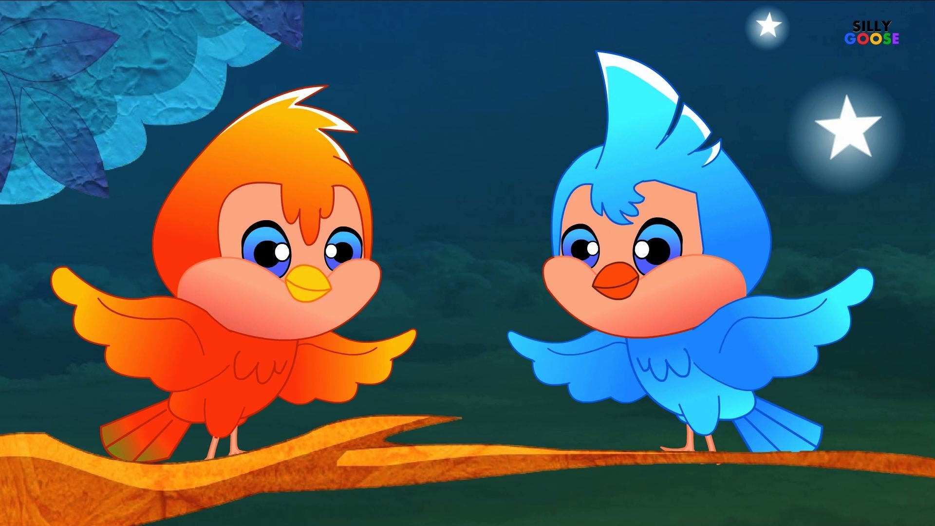 Bird clipart two little Birds  little dicky YouTube