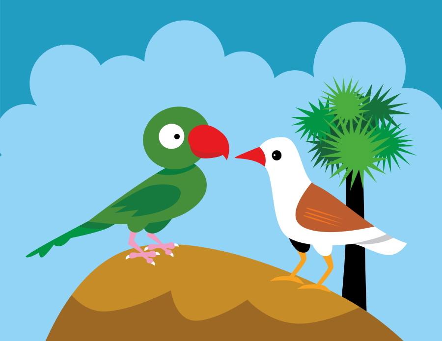 Bird clipart two little Little Mommy's Things: Art on