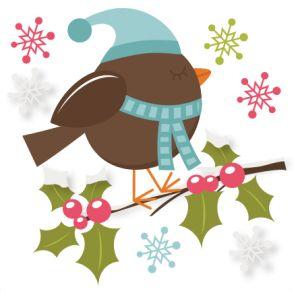 Winter clipart bird Illustrations Winter Pinterest about Bird
