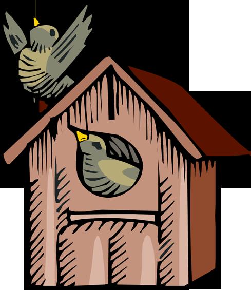 Bird House clipart Clipart Images Clipart Birdhouse Clipart