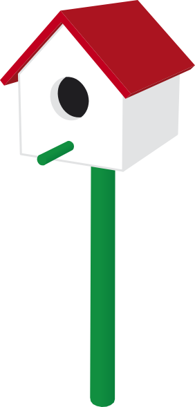 Bird House clipart animal home Clipart Clipart Cute Panda Free