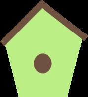 Bird House clipart Art Clip Birdhouse Birdhouse Image