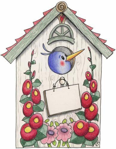 Bird House clipart Birdhouses ღ Phoebe · best