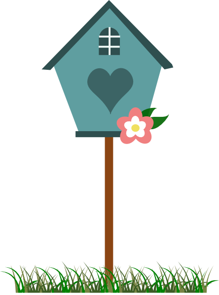 Bird House clipart animal home Clipart ︵‿✎Clipart clipart Pinterest Best