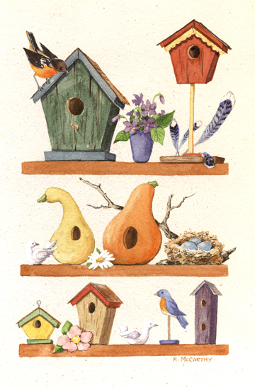 Bird House clipart animal home By  Home Maureen Maureen
