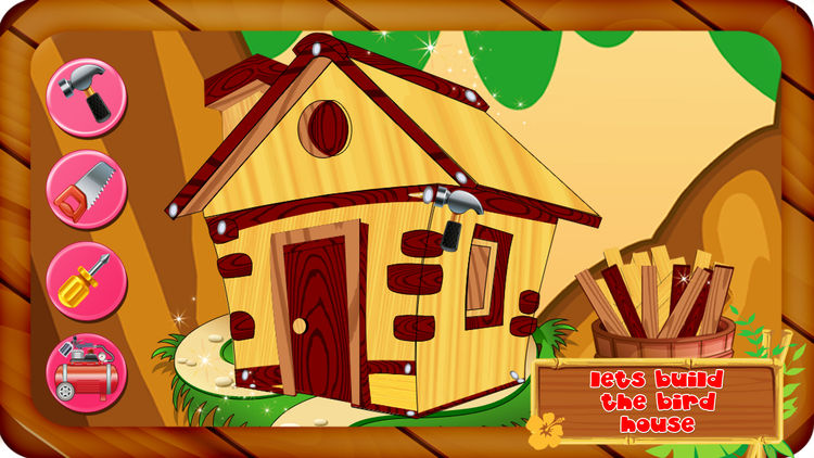 Bird House clipart animal home House animal it decorate –