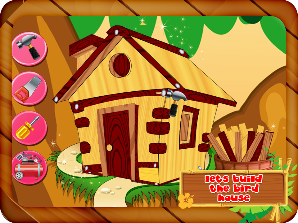 Bird House clipart animal home Bird pet decorate & House