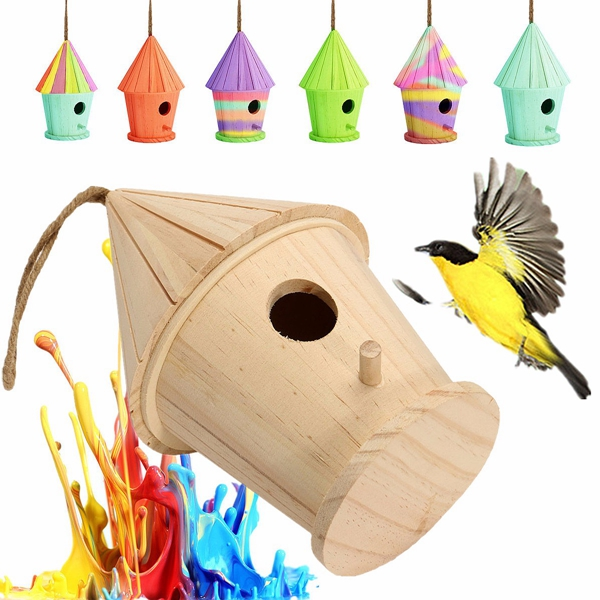 Bird House clipart animal home Bird Wooden Big House
