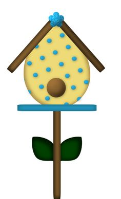 Bird House clipart bird watching Web Álbuns SCRAP MARIQUITAS HousesClip