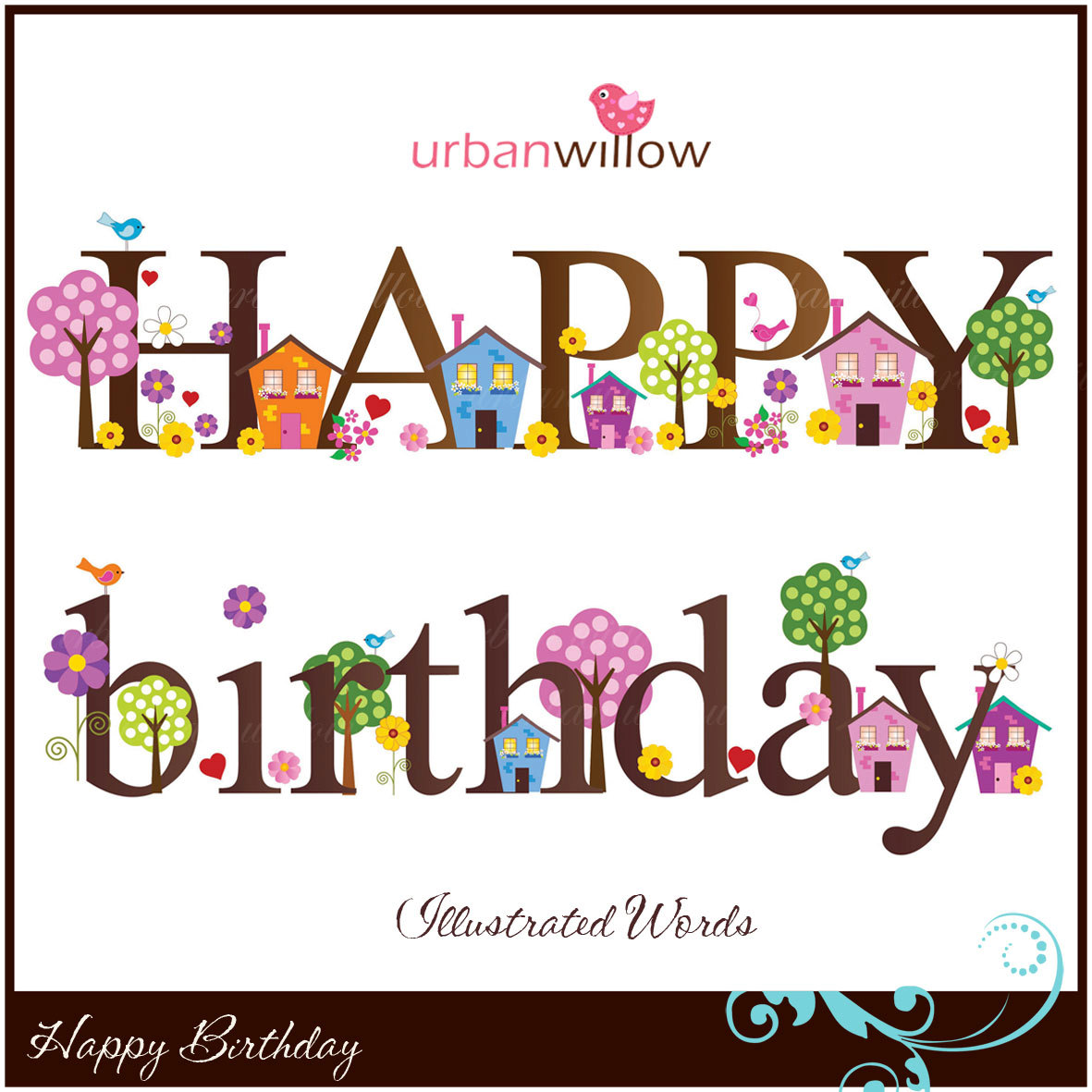 Bird House clipart birthday Clipart Birthday Making BIRTHDAY House