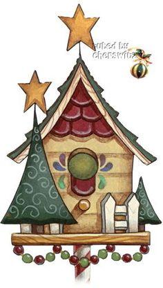 Bird House clipart christmas Christmas images birdhouse clipart clipart